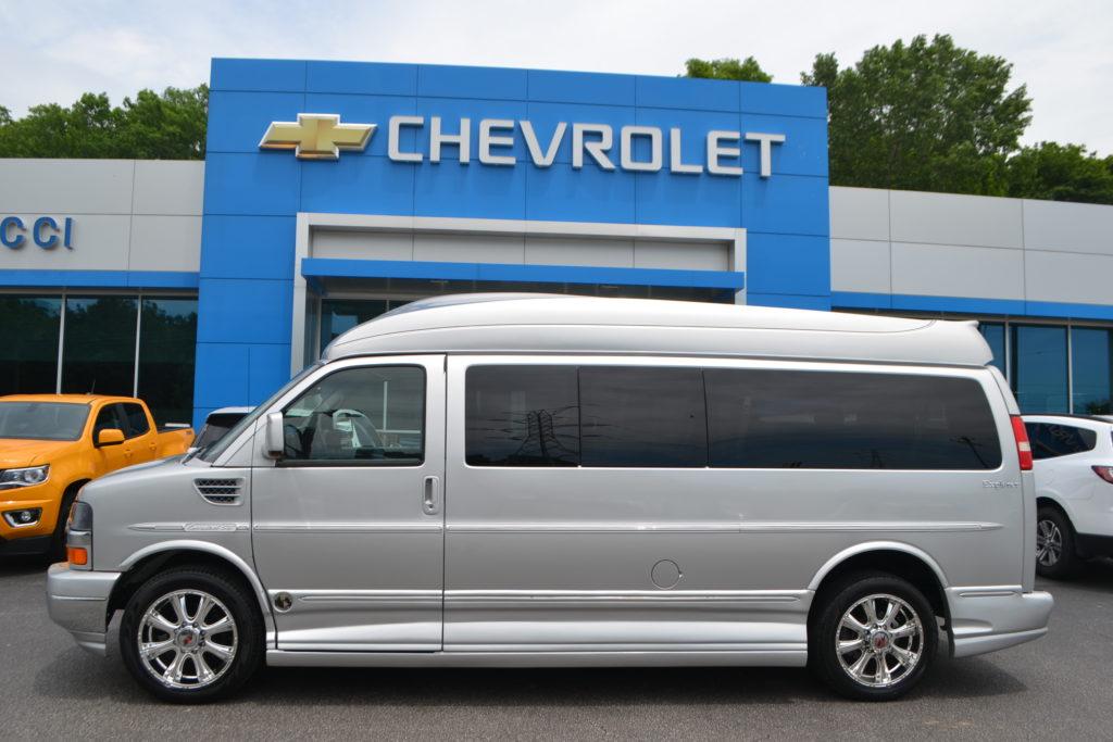 2011 Chevrolet Express Explorer Limited X-SE 9 Passenger Conversion Van Silver B1189925 Mike Castrucci Conversion Van Land