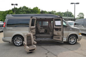 Quick release removable Chairs Explorer Van