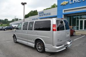 GMC AWD Conversion Van low Top Mike Castrucci Conversion Van land