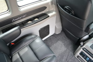 Comfortable Passenger Room in All Seats for Adults Growing Kids Large Car Seats or Basketball Players Mike Castrucci Ford Conversion Van Land