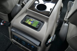 New Redesigned Center Console with Wireless Phone Charging pad