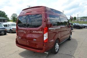 2020 AWD Ford Transit Explorer Van Company Conversion Van land