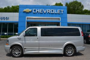 2020 Chevrolet Express Explorer Limited X-SE low top Conversion Van Land 1GCWGAFGXL1152186