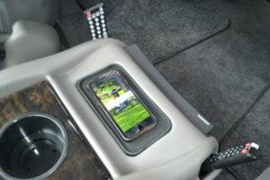 Wireless Charging Pad Explorer Van Center Console