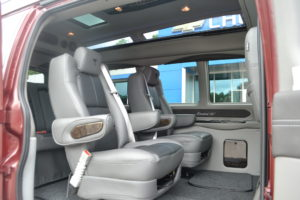 Comfortable Seating for an Adult in Every Seat, Also Great for kids… minimize fighting, no more quit touching me… The Ride will be enjoyable and less stressful for all. Enjoy the Ride as much as the Destination.