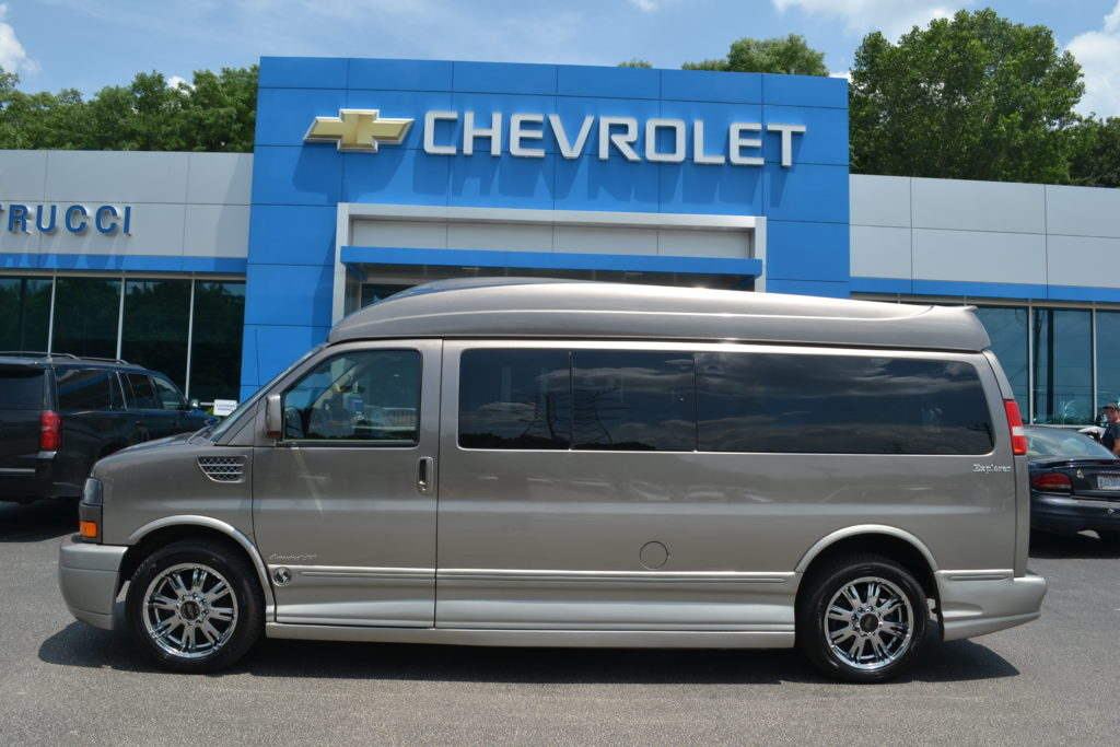 2012 GMC Savana 9 Passenger Explorer Limited X-SE C1107990 Conversion Van Land Mike Castrucci Chevrolet