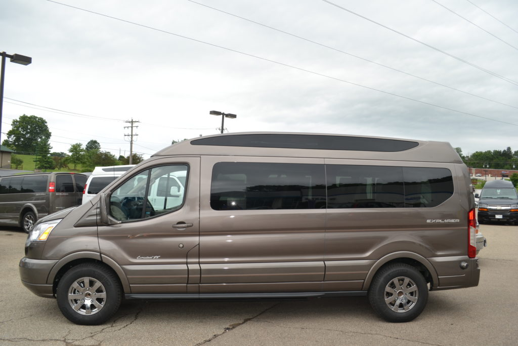 2018 Ford Transit Explorer 9 Passenger Conversion Van