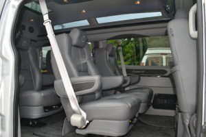 , Enjoy the Ride in Extremely Comfortable Seats from Explorer Van Company
