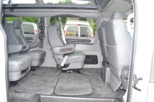 Removable Seats Explorer Van Company