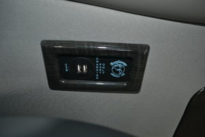 Rear USB Charging Ports up to 6 Available Outlets in Rear Passenger Area Explorer Van Company