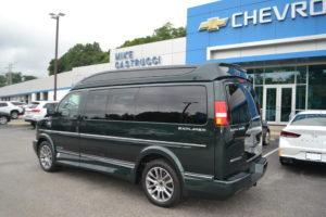 1GCWGAFG8K1356158 Mike Castrucci Chevrolet Conversion Van Land Explorer Van Company #1 Dealer