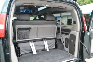 Room for what you need to do, Explorer Van Conversions Flexible Room for Cargo, Passengers or Both