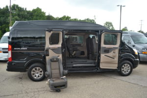 1 of 6 Easy Quick Release Center Captain Chairs, Move People or Cargo Explorer Conversion Vans