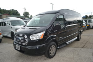 Plenty of Cargo room for all of the Adventures Mike Castrucci Ford Conversion Van Land