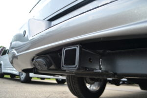 This van is made to Tow, Class III Hitch & Wire. Tow a Large Boat, Camper, or Trailer.
