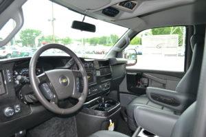 Explorer Van Driver Interior pic
