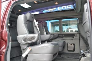 Conversion van interior