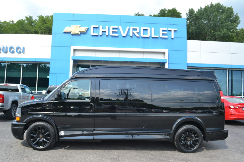 New Black Explorer 9 Passenger Van