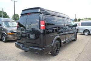 1GCWGBFG1K1362728 4X4 9 Passenger Explorer Conversion Van Mike Castrucci Chevrolet Conversion Van Land