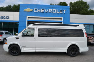2020 Chevy Express 9 Passenger - Explorer Limited X-SE VC 1GCWGBFG4L1257909 Conversion Van Land