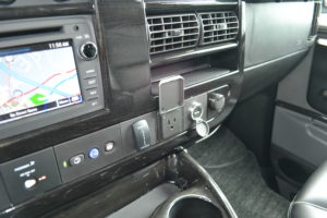 110 Power at the Front Dash and on the Center Console Great for Computers or Game Systems
