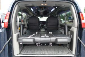Bed in Conversion Van