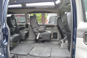 Quick Release Captain Chairs Explorer Van Company