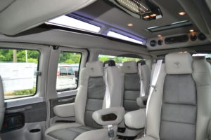 9 Passenger Seatin Mike Castrucci Conversion Van Land