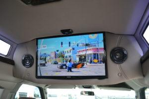 Conversion Van Entertainment System