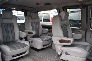 Room for a Cooler, Family Pet, or Shopping Bags. You have Options. Explorer Van Company