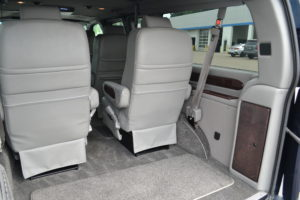 Rear Sport Utility Seating offer Flexible Storage options and Lots of Cargo Room