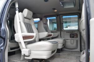Explorer Van Seating Legendary Comfort