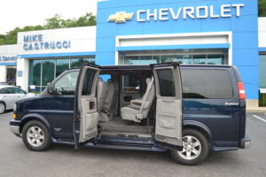 Conversion Van with Doors on Both Sides