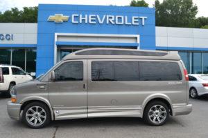 New 2018 Explorer Conversion Van Bronzemist Metallic Fade