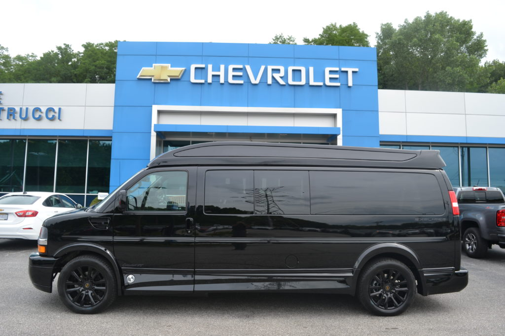 2020 Chevy Express 9 Passenger Explorer Limited X-SE VC 1GCWGBFG3L1257044 Mike Castrucci Chevrolet Conversion Van Land