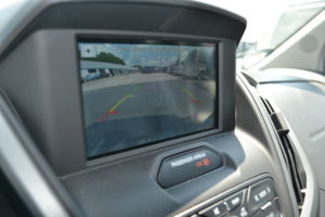 Back up Camera Image Appears in Navigation Screen when put in Reverse
