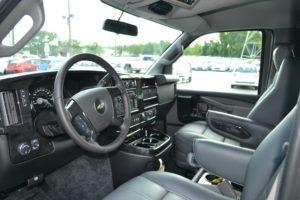 Front Seat Explorer Van