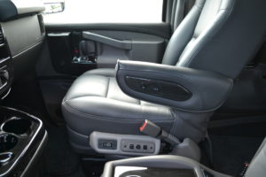 Explorer Van front Passenger Seat Chevrolet