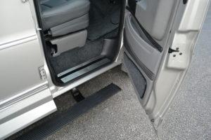Explorer Van Passenger Side Power Retractable Running Board