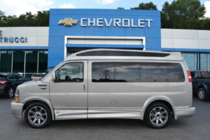 Explorer Conversion Van Silver Birch Metallic