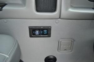 Explorer Van rear USB Charging ports