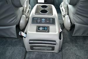 Explorer Van center console