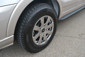 2019 Explorer Van Company 16 in. Ford Chrome Wheel with Premium Michelin Tires