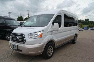 1FTYR2CG1KKB40871 Ford Transit Medium Roof Conversion Van by Explorer Van Company