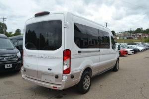 Ford Transit Medium Roof Conversion Van by Explorer Van Company