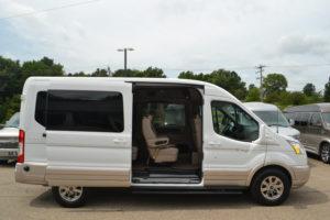New Ford Transit Medium Roof Conversion Van by Explorer Van Company
