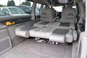 Dog Show Van with a Bed Conversion Van Land
