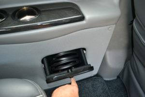 Headphone Storage Compartment Explorer Van Company