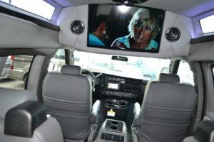 Explorer Conversion Van TV