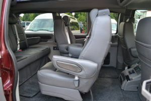 Swivel Center Seats Explorer Van Co